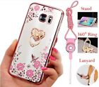 samsung galaxy 4 cover - US Bling ShockProof Silicone TPU Soft Clear Case Stand Cover For Samsung Galaxy