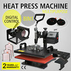 8IN1 HEAT PRESS TRANSFER MACHINE T-SHIRT STEEL FRAME SUBLIMATION MULTIFUNCTIONAL