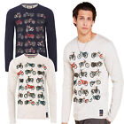 Brave Soul Mens Speed Long Sleeved T Shirt New Designer Cotton Motor Bike Top