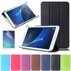 """Premium Leather Stand Slim Case Cover For Samsung Galaxy Tab E 8"""" 9.6"""" T377 T560"""