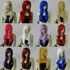 28 in. Free Shipping Long Hair Heat Resistant Big Wavy Cosplay Wigs Synthetic 04