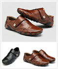 Men's Classic Moccasins Leather Shoes Fashion Casual  Loafers Driving Shoes