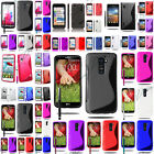 CASE COVERS CASE TPU SILICONE GEL S-LINE SERI LG OPTIMUS LG G + FILMS + STYLUS for sale  France