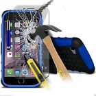 Heavy Duty Stand Shock Proof Builders Tyre CaseCover Iphone&Free Tampered Glass