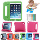 Kids Shockproof Safe EVA Foam Case Handle Cover Stand For Apple iPad 2 3 4 9.7""