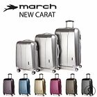 March 15 Trolley NEW CARAT 4 Doppel-Rollen S 55 M 65 L 74cm Ultraleicht Koffer