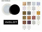 INGLOT Corpo Brillantini corpo GLITTER festa Make-up decorazione 100% LUCENTEZZA