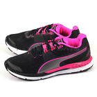Puma Speed 600 Ignite Wn Black-Pink Glow-Aged Silver Running Shoes 188789 07
