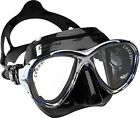 Cressi Eyes Evolution Scuba Snorkeling Freediving Mask with Case – Made in Italy