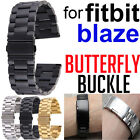 For FITBIT BLAZE Watch Butterfly Buckle Clip Strap Watch Clasp Replacement Band