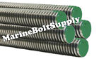 Type 316 Stainless Steel Threaded Rod / Stainless All Thread (3 Foot Sections)