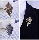 Men Suit Shirt Badge Corsage Lapel Stick Pin Brooch Jacket Neckwear Accessory