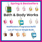 Bath and Body Works Wallflowers Fragrance Refill Bulbs Spring Scents