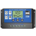 LCD 10/20/30A 12V/24V Solar Panel Controller Regulator Charge Battery Protection