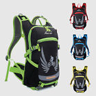 15L Bicycle Backpack Water Resistant Reflective Stripe In Night Cycle Bag