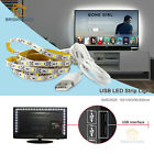 DC5V USB LED Strip 3528 Flexible Bright Light 50CM 1/2/3M TV Background Lighting