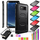 Armor Shockproof Rugged Rubber Silicone Protective Hybrid Hard Phone Case Cover