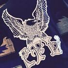 FTW FOREVER TWO WHEELS up wing eagle tee vintage 70s biker shirt harley patch hd