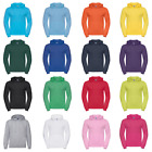 New RUSSELL Hooded Sweatshirt in 8 colours XS - XXL
