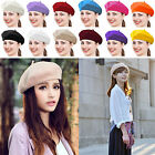 Fashion Warm Wool Winter Women Girl Beret French Artist Beanie Hat Ski Cap Gift
