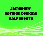 Jamberry Nail Wraps - Retired Designs, P-R - 1/2 Sheets - Rare, Hard to Find