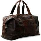 Jack Georges Voyager Leather Duffel Bag, Travel Bag