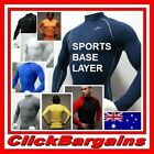 "MEN'S BASE LAYER COMPRESSION LONG SLEEVE SHIRT TOP GEAR WEAR SKINS ""TAKE FIVE"" 5"