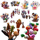 New Family Animal Finger Puppets Cloth Doll Baby Educational Hand Toy Story Kids