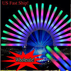 12~360pcs Light Up Foam Sticks LED Wands Rally Rave Batons Flashing Glow Stick