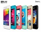 Android Cell Phone Unlocked 3G BLU Dash L Dual Sim  Compatible With att,TMobile