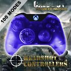 Xbox One/S Clear Blue With Blue LED Rapid Fire Paddle Controller BF1-IW-GOW4