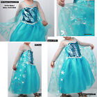 Frozen Elsa Vestito Carnevale Bambina Snow Queen Cosplay Costume Dress 789061DIR