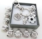 Co.Keyring - Wedding Football - Groomsman Gift,Page Boy gift,Bride father gift