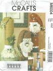 McCall's 6004 Snowman Greeter and Santas    Sewing Pattern