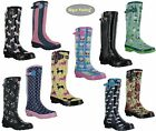 Womens WYRE VALLEY Ladies Wellies Muck Wellington Festival Shoes Boots Size 3-8