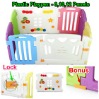 Plastic Baby Playpen Kids Interactive Play Pen Safety Gate with 8 10 12 Panels
