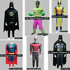 Hulk Batman Superman Antman Wolver Costumi Carnevale Uomo Cosplay Costume SUHEM5