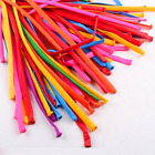100 x  COLOURED MODELLING BALLOONS WEDDING ,PARTY& KIDS BIRTHDAY PARTY CRAFT DEC