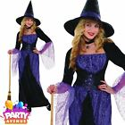 Womens Pretty Potion Witch Halloween Costume Fancy Dress Outfit Adult