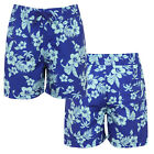 Nifty Kids Boys Hibiscus Floral Print Swimming Board Shorts Summer Surf Trunks