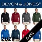 Devon & Jones Mens Stretch Tech-Shell Compass Quarter-Zip. DG440