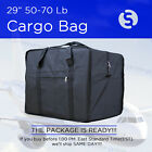 Внешний вид - 62 INCH 50 - 70 Lb BLACK DUFFEL BAG TRAVEL LUGGAGE SUITCASE BRIEFCASE TOTE BAG