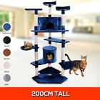 NEW 200cm Large Cat Scratching Tree Gym Post Toy House Scratcher Poles Furniture