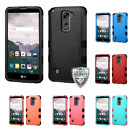For LG G Stylo 2 Plus MS550 Natural TUFF Armor Hybrid Phone Protector Case Cover
