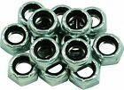 Skate wheel axle lock nuts for 7mm or 8mm skate trucks / one set of 8 nuts