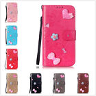 Fashion cute stickers love PU Leather mobile phone shell For Apple Iphone 7 Plus