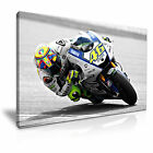MOTO GP Valentino Rossi Icon Canvas Wall Art Picture Print ~ More Size