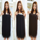 Full Head One Piece Clip In 100% Human Hair Extensions Hair Pieces Customized