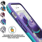 Hard Bumper Hybrid Soft Rubber Skin Case Cover for iPhone 5 5S SE 6 6s Plus