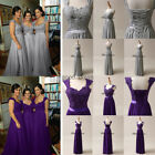 New Lace/Chiffon Bridesmaid Formal Gown Prom Party Ball Evening Dress Size 6-22+